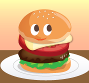 バーガー10個